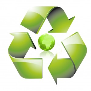 Recycling green planet